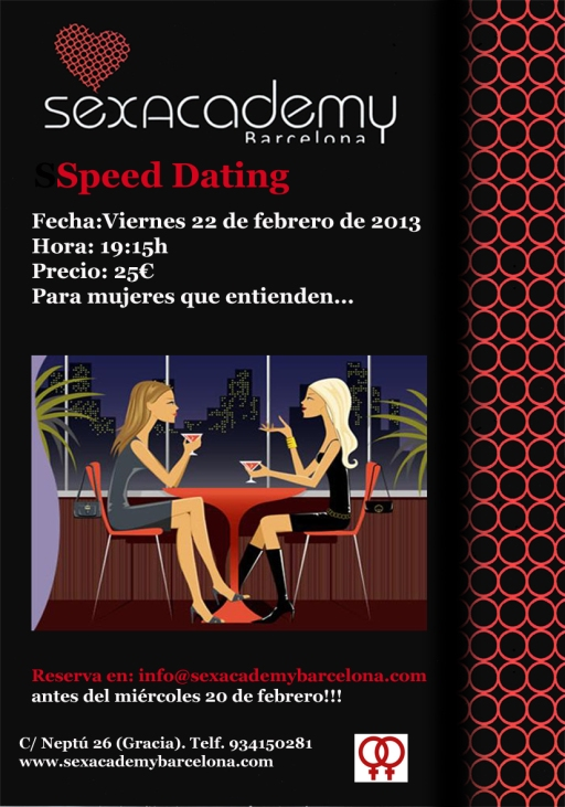Speed dating lesbis 22 febrero 2013